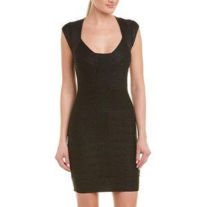 French Connection Black Bandage Sheath Dress